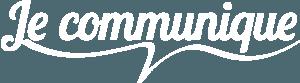Logo je communique blanc en 1834 par 506.