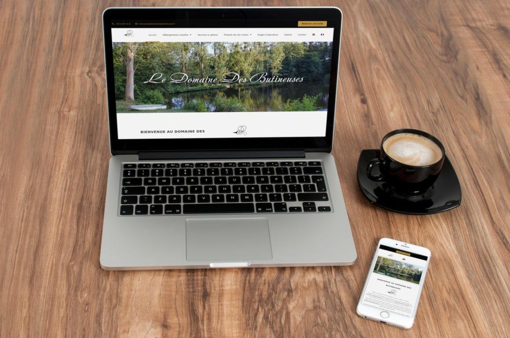 site-Internet-Domaine-des-Butineuses.