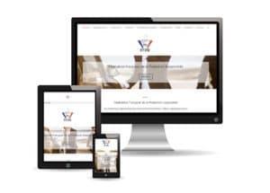 Mockup du site Internet de la FFPR.